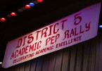 District 5 Pep Rally Banner